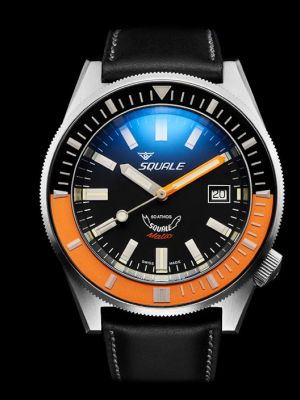 Squale 60 atmos Squalematic Orange/Black