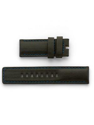 Ralf Tech 26mm Alpine Black Leather Strap