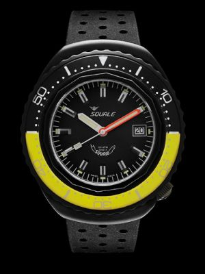 Squale 101 atmos 2002 - Yellow/Black Black PVD