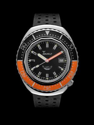 Squale 101 atmos 2002 - Orange/Black Polished