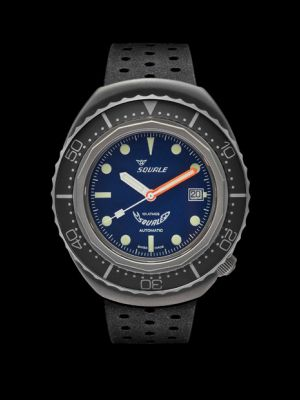 Squale 101 atmos 2002 - Grey Blue Dots Blasted