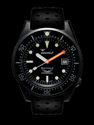 Squale 50 atmos 1521 Dive Watch - Black PVD
