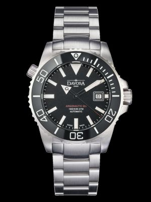 Davosa Argonautic Black Trialink Dive Watch