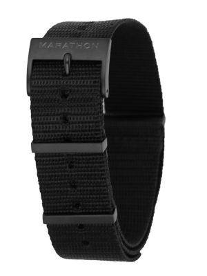 Marathon 20mm Nylon NATO Black IP Strap