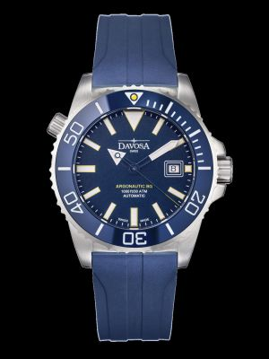 Davosa Argonautic Blue Rubber Dive Watch