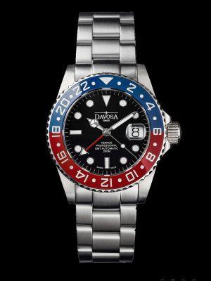 Davosa Ternos Professional GMT TT Blue-Red Trialink Dive Watch