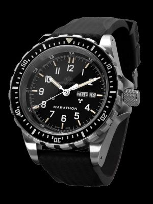 Marathon JDD Search and Rescue Dive Watch - YAMAM Markings